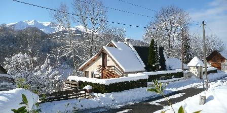 Chambres d'hôtes La Laurence Le chalet en hiver