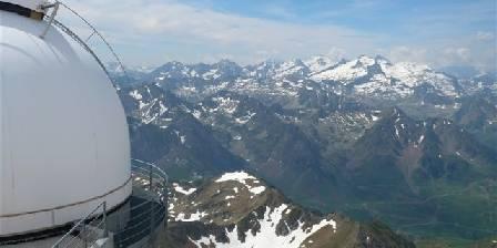 Chambres d'hôtes La Laurence Panorama depuis l'observatoire du Pic du Midi