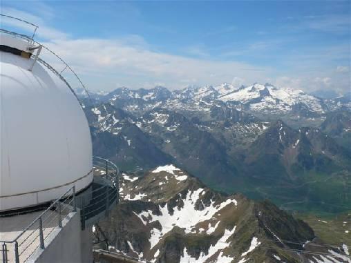 Panorama depuis l'observatoire du Pic du Midi
