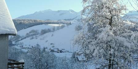Chambres d'hôtes La Laurence Vue de la vallée en hiver