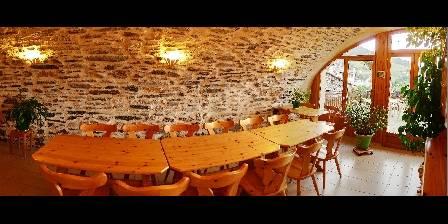 Chambre d'hotes La Roche du Croué > la salle à manger