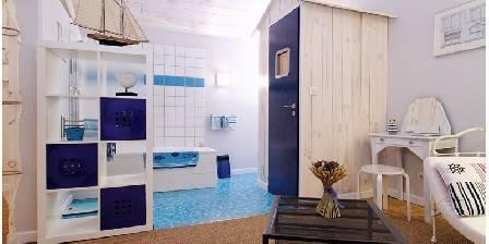 Le gîte de la Cour des Saligues La salle de bain