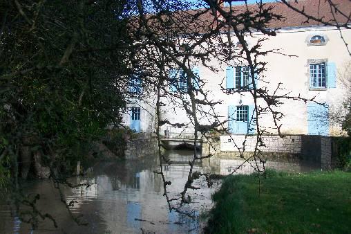 Moulin de la Croix façade ouest