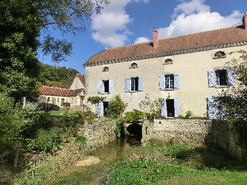 Le Moulin de la Croix et son bief
