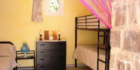 Gite Les Mimosas > chambre