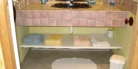 Les Mimosas Salle de bain