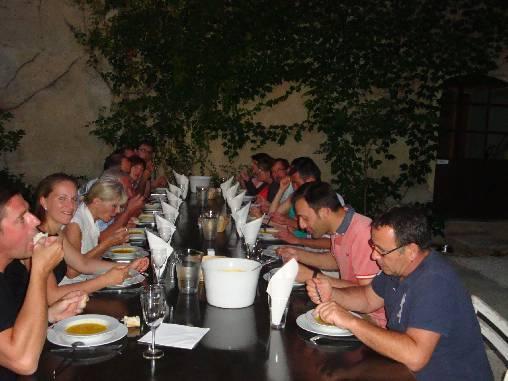 Chambre d'hote Vaucluse - la table d'hôte