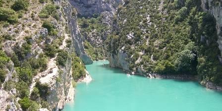Chambre d'hotes Le Rocher du Loup > Canyon du Verdon