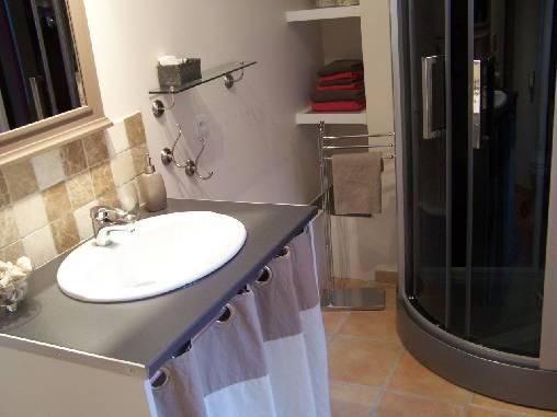 Chambre d'hote Var - Salle de bain Campagne