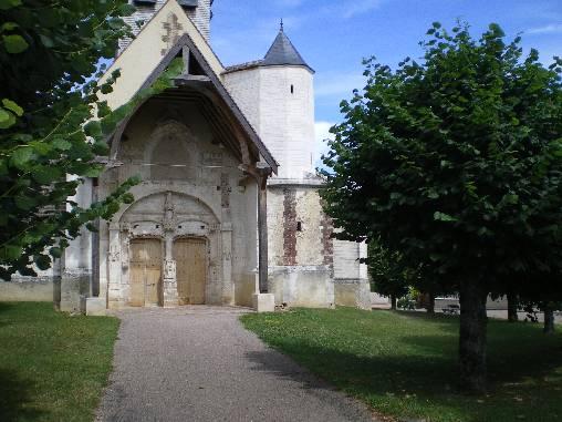 L'église de Sormery