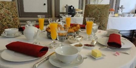 Chateau de la Frogerie Nos petits-déjeuners...