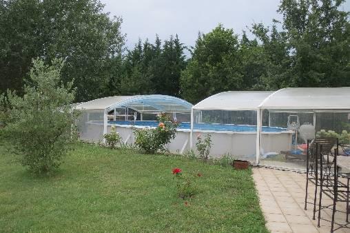 Chambre d'hote Bouches du Rhône - la piscine ouverte