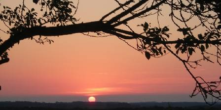 Belliette Au coucher du soleil