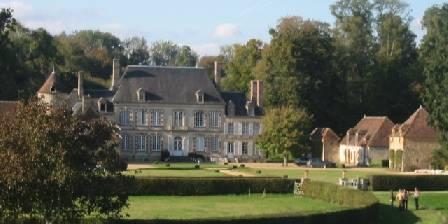Le Château de la Grande Noë Le chateau vue d'hélicoptère