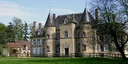 Le Château de la Grande Noë Côté parc