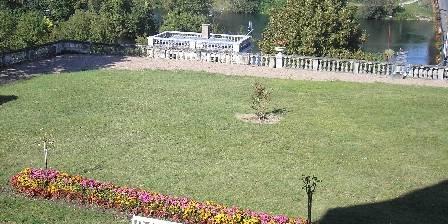 Château de Véretz Jardin dominant le Cher