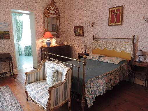 bed & breakfast Indre-et-Loire - Charlotte Room