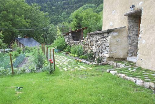 Chambre d'hote Hautes Alpes - Le Jardin