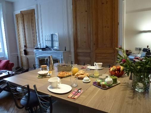 Chambre d'hote Rhône - Le petit déjeuner