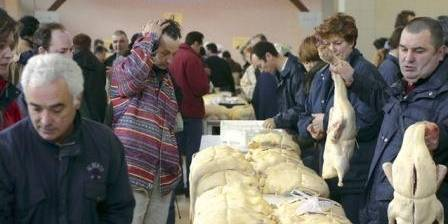 Moulin d'Encor Le marché au gras a Samatan