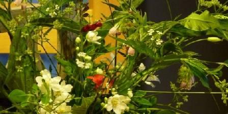 Les Maisons Fougère et La Bulle à Parfums Bouquet à la table du petit déjeuner