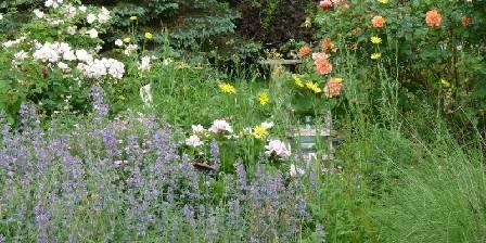 Les Maisons Fougère et La Bulle à Parfums Jardin arboré