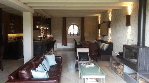 Chambre d'hote Loir-et-Cher - Salle a manger / salon