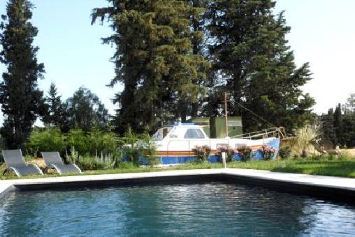 Chambre d'hote Gard - Le bateau dans l'herbe