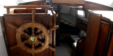 Le bateau d'Acanthe Gouvernail