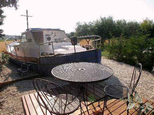 Terrasse bateau