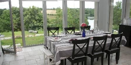 La Métairie de Fond-Guibert Cuisine panoramique