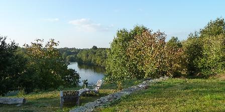 La Métairie de Fond-Guibert Chemin et jardin