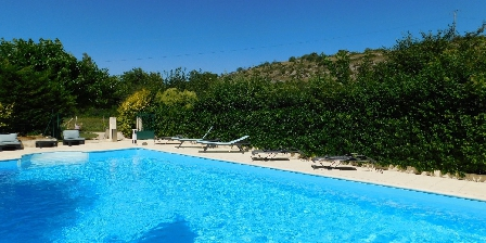 La Magnanerie Vue piscine