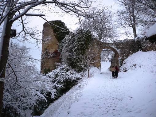 balade au château de Ferette