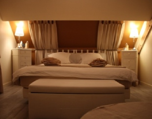 bed & breakfast Loir-et-Cher - Romantic bedroom Volti