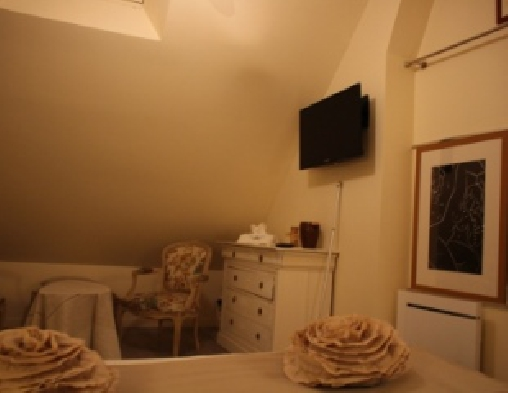 bed & breakfast Loir-et-Cher - 3rd bed in the room romantic Volti