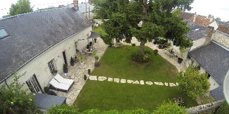 Lyzen Vue aérienne du jardin