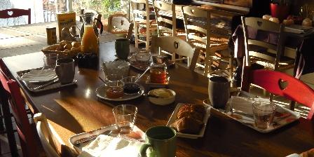 Domaine des Loriots Petit déjeuner
