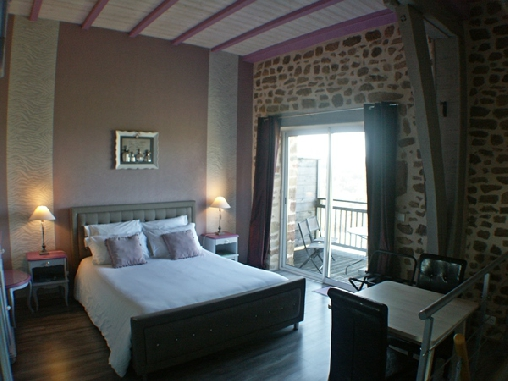 Chambre d'hote Corrèze - chambre Les Instants en amoureux