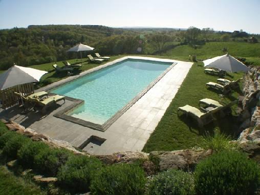 Chambre d'hote Corrèze - Les instants Volés jacuzzi privatif piscine