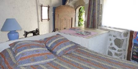 Gästezimmer Le Grand Puits > Blue room (adjacent)