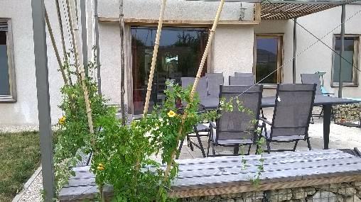 Chambre d'hote Loir-et-Cher - le végétal à la terrasse