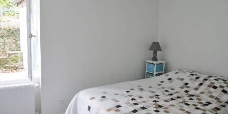 Le Cocon d'Emma Partie nuit la chambre avec un lit double
