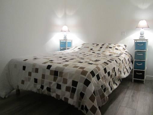 la chambre le soir au coucher