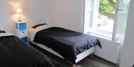 Le Cocon d'Emma Une 2° chambre à 2 lits