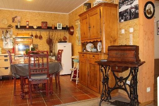Chambre d'hote Bas-Rhin - cuisine Géranium