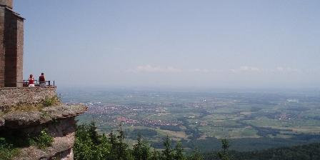 La Cour de J'Anne - Gîte Géranium Vue sur la plaine d'Alsace