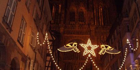 La Cour de J'Anne - Gîte Géranium Noel en Alsace