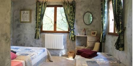 Gite Le Mas De La Cigale Bleue - Derrière Les Oliviers > Chambre