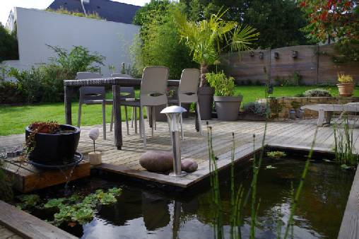 Chambre d'hote Morbihan - terrasse petit déjeuner